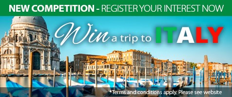 Win A Trip to Italy Competition - Lifestyle Loans